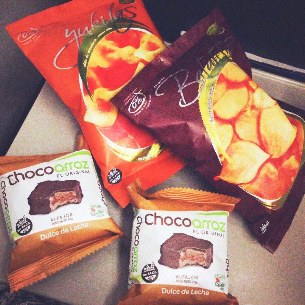 Sem Glúten, Gluten Free, Comida de Avião, LAN Argentina, Lanche, Voo - Foto Nathalia Molina @ComoViaja