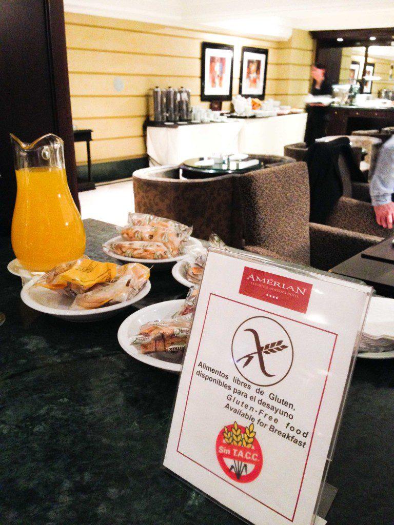 Sem Glúten, Gluten Free, Mendoza, Hotel Amérian, Argentina - Foto Nathalia Molina @ComoViaja (2)