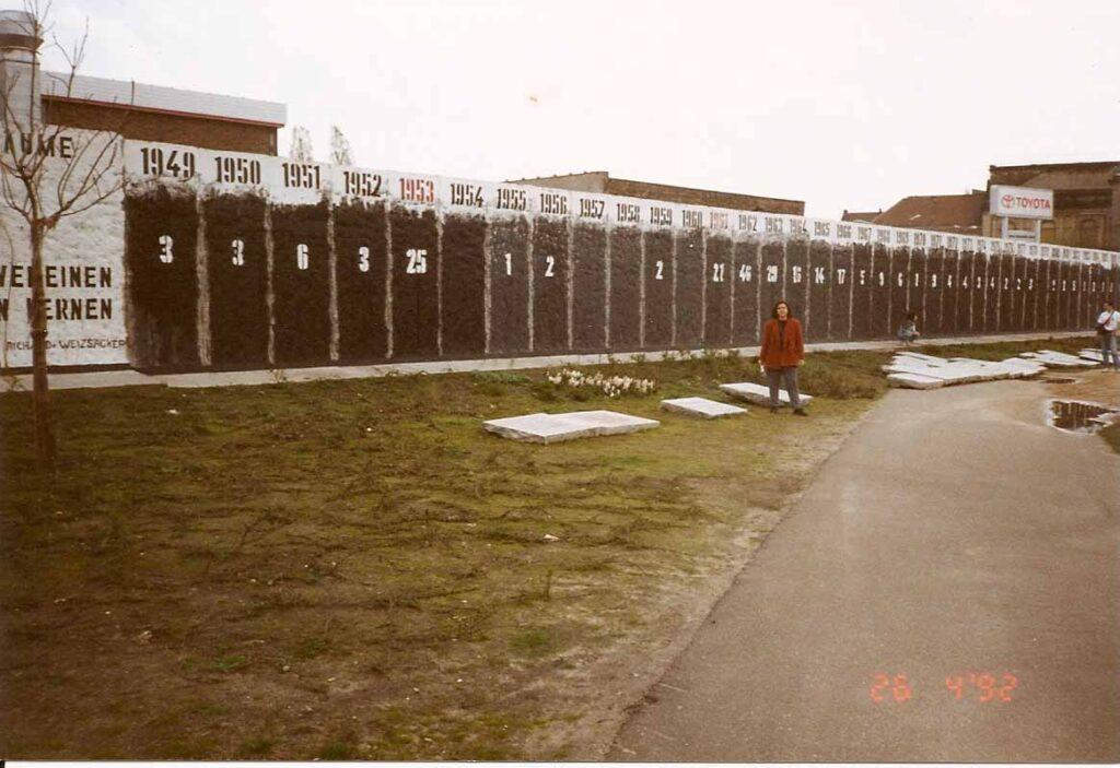 Muro de Berlim, Queda, Viagem 1992 - Foto Nathalia Molina @ComoViaja (4)