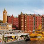 Minimundo em Hamburgo, na Alemanha: miniaturas do Miniatur Wunderland